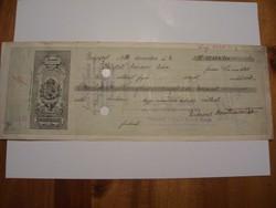 50000 Korona 1925 Váltó Ritka .