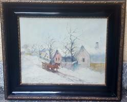 Németh György  Eredeti Festménye
