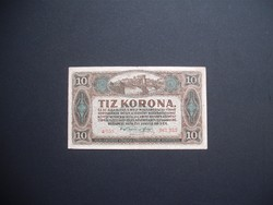 10 korona 1920 sorszám között pont !!!