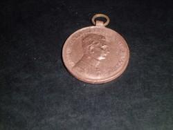 IV. Károly bronz Vitézségi érem