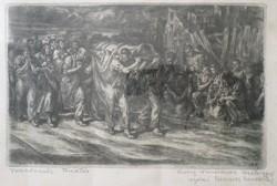 Vydai Brenner Nándor: Forradalmár temetés