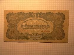 Extra szép 20 pengő 1944 !!