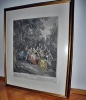 Benoit Audran: Le Printemps  after 1738