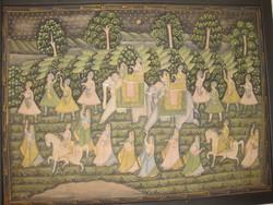 Indiai falikárpit