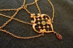 Antik arany nyaklánc/collier