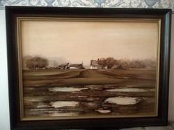 Kortárs olaj festmény