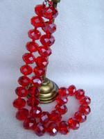 Gyönyörű feltöltött rubin nyaklánc hölgyeknek tajföldi 670 karát