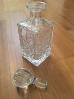 Polonia Crystal 24% Lead Crystal Whisky Bourbon Liquor Decanter Made In Poland