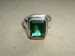 Nagyköves ezüstgyűrű