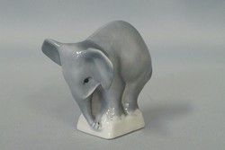 Zsolnay kis elefánt