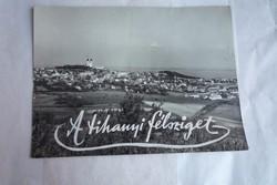Tihany Barátlakások 1950 fénykép Balaton