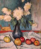 Abonyi Tivadar festménye : Csendélet