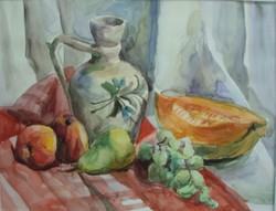 Akvarell csendélet
