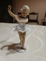 Nagyon szép wallendorf  balerina , 12,5  cm.