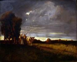 Fejér Sándor (1876-1915): Hazafelé a vihar előtt