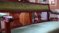 Század eleji kanapé teljeskörűen felújítva (1900-as évek legeleje)