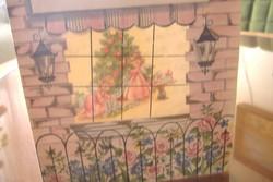 Karácsonyi angyalkák, széthajthatós dombornyomásos képeslap