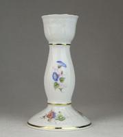0N960 Hollóházi porcelán gyertyatartó