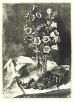 """Kórusz József : """"Virág cseresznyével"""" 1962"""