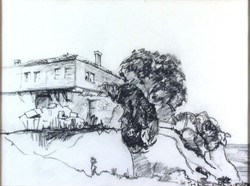 Európai művész XX. század : Mediterrán ház