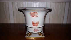 Herendi körmös  váza  13 cm magas
