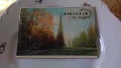 Lomonosov 1978-as képeslapok 12 db