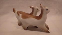 Zsolnay porcelán szobor
