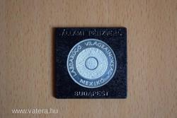 1986 Labdarúgó VB Mexikó 925 ezüst emlékérem