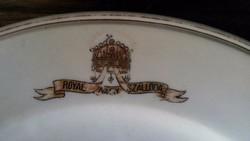 Antik Zsolnay Royal Szállodai Tányér