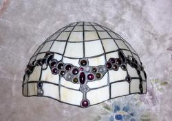 2 db Tiffany szép ólomüveg fali lámpa
