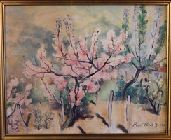 Pécsi Pilch Dezső festménye:. Tavasz 1939