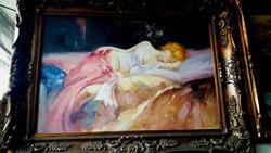 Pihenő nő