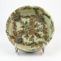 0O236 Nagyméretű keleties porcelán hamutál