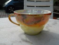 Cseh szivárványos irizáló csésze