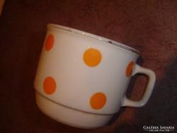 Zsolnay pettyes csésze