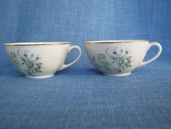Kispesti porcelán csésze kávéscsésze pár