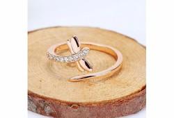 Szitakötő fazonú gyűrű 4,5-6,5 ÚJ!