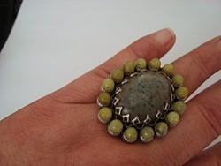 Ollipop Usa hatalmas ásvány gyűrű