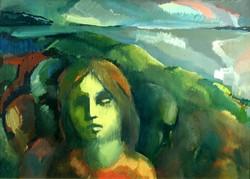 Birinyi György : Tájkép fejekkel
