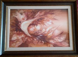 Markó Erzsébet festmény