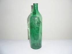 Antik üveg palack - ÉTELECET - étel ecet ecetes üveg - 1 liter
