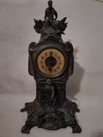 Francia szecessziós kandalló óra