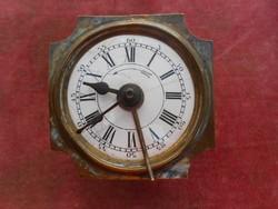 Antik ébresztős asztali óra szerkezet