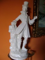 Antik Villeroy&Boch Dresden hatalmas 42 cm a  nemesi úr biszkvit...