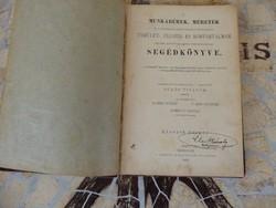 Munkabérek méretek segédkönyve 1900 Miskolcz Vasuti Folyóirat kiadása