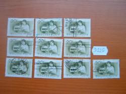 20 FILLÉR 10 DB 1955 Foglalkozások,Rádiószerelő D226