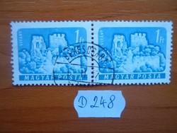 1 FORINT 1 PÁR 1961 VÁRAK,VITÁNY D248 BÉKÉSCSABA