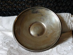 Szecessziós ezüst tálka
