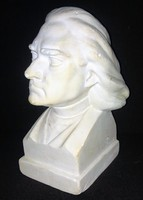 Liszt Ferenc mellszobor Kormos jelzéssel