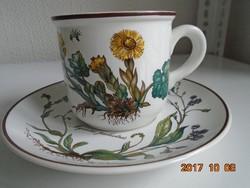 Villeroy&Boch BOTANICA sorozatból- kávés/teás csésze alátéttel(5)